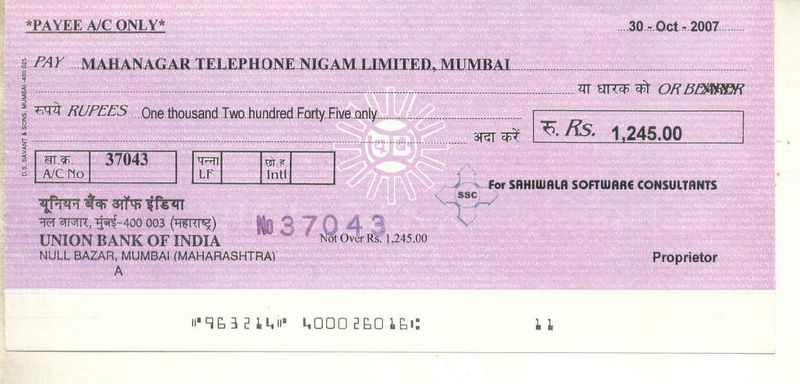 Bulk Cheque Printing Software  Cheque Print out  Screen